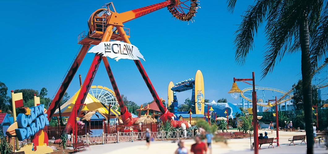 Why visit the theme parks on the Gold Coast?