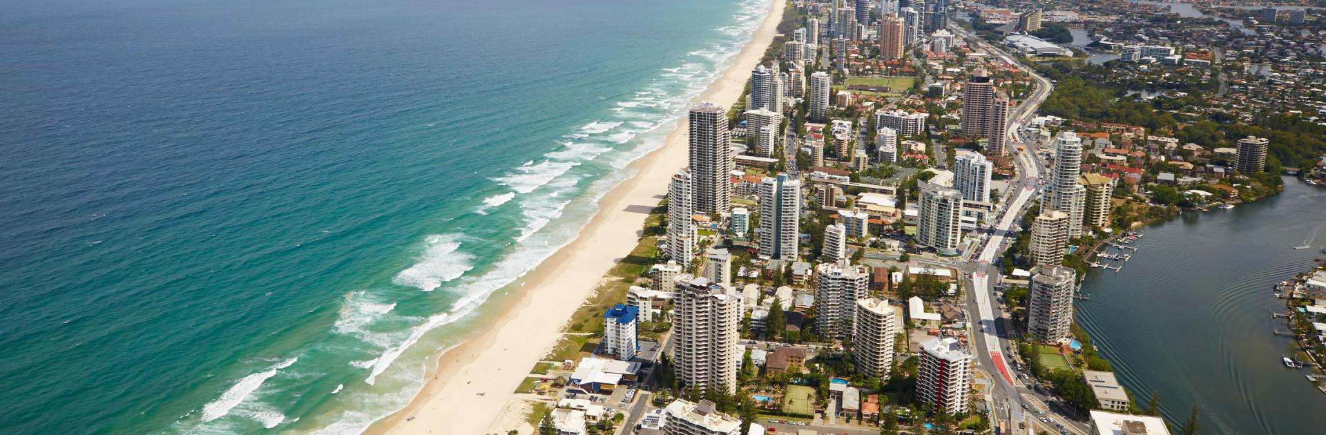 How big is the Gold Coast?
