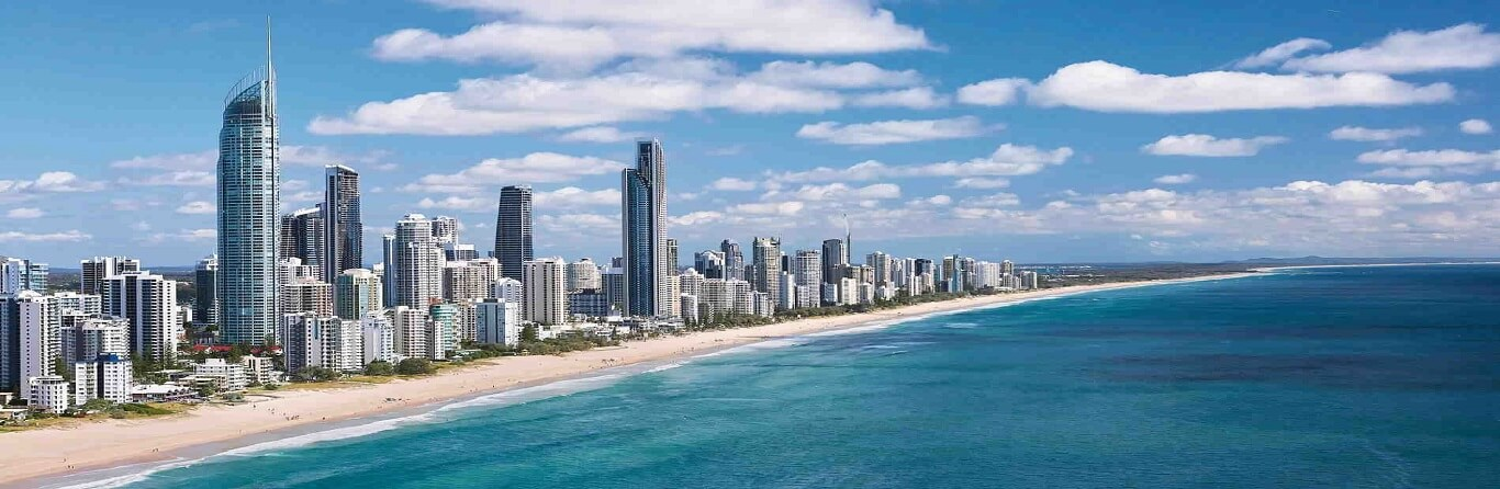 How long is the Gold Coast?