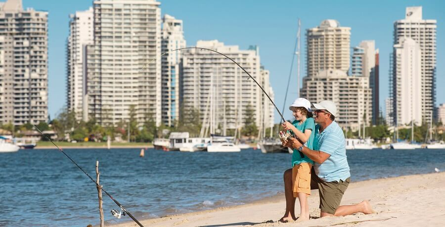 fishing at gold coast